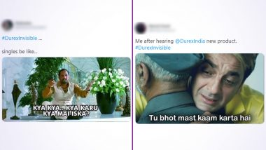 #DurexInvisible Funny Memes & Jokes Take Over Twitter After Durex India Launches 'Thinnest Condom', Happy Netizens Talk About Safe Sex and Pleasure With Hilarious Posts