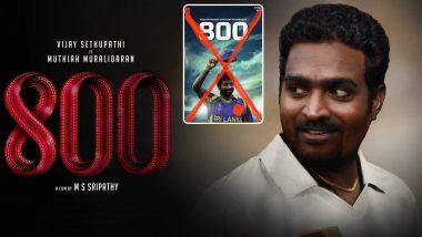 Vijay Sethupathi Gets Trolled For Playing Former Sri Lankan Cricketer Muthiah Muralidaran's Role In '800'; Netizens Trend #ShameOnVijaySethupathi On Twitter
