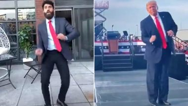 Donald Trump's Dance to Village People's 'YMCA' Song in Rallies Has Inspired TikTok Trend, Watch Videos of Supporters Copying US President's Quirky Moves