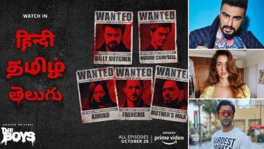 The Boys: Arjun Kapoor, Disha Patani, Rajkummar Rao To Dub For The Hindi Version Of Amazon Prime Series!