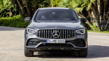 2020 Mercedes-AMG GLC 43 Coupe to Be Launched in India on November 3