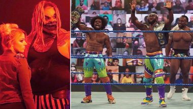 WWE SmackDown Oct 9, 2020 Results and Highlights: The New Day Defeat Shinsuke Nakamura, Cesaro to Become Tag Team Champions; The Fiend Crushes Kevin Owens by Mandible Claws (View Pics)