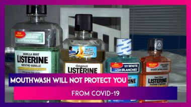 Coronavirus: No, Using Mouthwash Will Not Protect You From COVID-19 As Claimed By A Recent Study