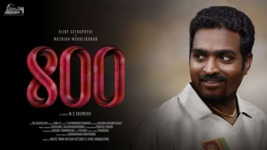 800: Muttiah Muralitharan's Biopic Makers Issue Statement after 'Shame on Vijay Sethupathi' Trends on Twitter
