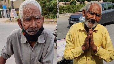 After Baba Ka Dhaba, Internet Users Unite to Help 86-Year-Old Man Selling Bhelpuri In Faridabad, Donates Rs 57,000 (Watch Videos)