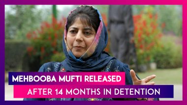 Mehbooba Mufti Released After 14 Months In Detention, PDP Chief & Former J&K CM Says 'Will Take Back What Delhi Snatched'; Omar Abdullah Tweets 'Welcome Out'