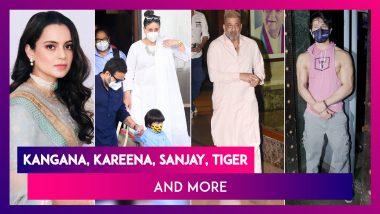 Kangana Ranaut, Sister Rangoli Chandel Summoned By Mumbai Police On October 26 & 27; Kareena Kapoor, Saif Ali Khan, Taimur Ali Khan, Sanjay Dutt & Tiger Shroff Spotted