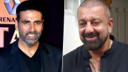Sanjay Dutt Beats Cancer: Akshay Kumar Is Elated With the Good News and Excited to Meet Baba on the Sets of Prithviraj (View Tweet)