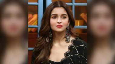 RRR Actress Alia Bhatt to Head to Hyderabad Next Week to Shoot for SS Rajamouli Directorial?