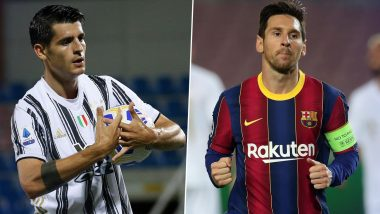 Juventus vs Barcelona, UEFA Champions League: Lionel Messi, Alvaro Morata and Other Players to Watch
