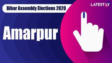 Amarpur Vidhan Sabha Seat Result in Bihar Assembly Elections 2020: JD(U)'s Jayant Raj Wins Against Congress' Jitendra Singh