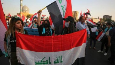 Iraqis Take to Streets to Mark 1st Anniversary of Anti-Govt Protests