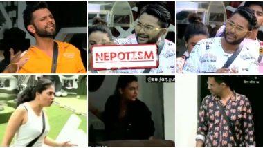 Bigg Boss 14 Preview: Rahul Vaidya Nominates Jaan Kumar Sanu and Declares He Hates 'Nepotism', Kavita Kaushik Clashes With Shardul Pandit and Pavitra Punia on Her First Day (Watch Video)