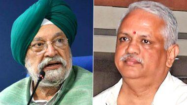 Rajya Sabha Bye-Elections 2020: Hardeep Singh Puri, BL Santosh and 6 Other BJP Candidates File Nominations From Uttar Pradesh