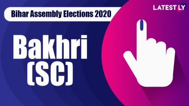 Bakhri (SC) Vidhan Sabha Seat in Bihar Assembly Elections 2020: Candidates, Schedule And Result