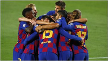 BAR vs DYK Dream11 Prediction in UEFA Champions League 2020–21: Tips to Pick Best Team for Barcelona vs Dynamo Kyiv Football Match