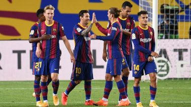 Barcelona vs Real Betis, La Liga 2020-21, Free Live Streaming Online & Match Time in IST: How to Get Live Telecast on TV & Football Score Updates in India?