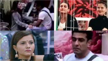 Bigg Boss 14 Preview: Eijaz Khan Breaks Down Into Tears; Rubina Dilaik Questions Pavitra Punia's Character (Watch Video)