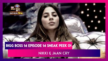 Bigg Boss 14 Episode 14 Sneak Peek 01 |Oct 21 2020: Nikki & Jaan Break Down in Tears