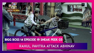 Bigg Boss 14 Episode 19 Sneak Peek 03 | Oct 28 2020: Rahul & Pavitra Attack Abhinav