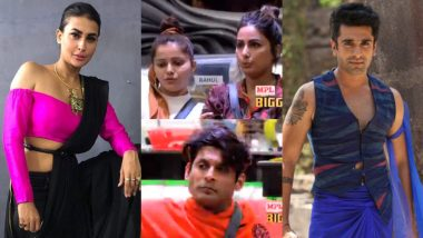Bigg Boss 14 October 21 Episode: Sidharth, Hina, Gauahar Say Goodbye to the Show, Pavitra Punia, Eijaz Khan in Red Zone – 4 Highlights of BB 14