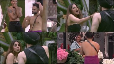 Bigg Boss 14 October 14 Episode: Rahul Vaidya Dances in a Towel For Hina Khan, Nikki Tamboli Calls Shehzad Deol Ch***ya - 5 Highlights from BB14's Day 11