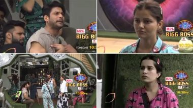 Bigg Boss 14 October 5 Episode: From Rubina Being The 'Nirasha Janak' Contestant to Sara Calling Sidharth 'Jija', 5 Must-Read Highlights From Day 2 of the Reality Show!