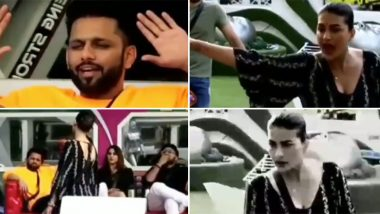 Bigg Boss 14 Preview: Pavitra Punia Says 'Aisa Doongi Na' To Rahul Vaidya Amid Their Nasty Fight Over Daily Chores (Watch Video)
