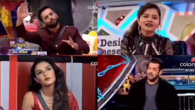 Bigg Boss 14 Weekend Ka Vaar Preview: Salman Khan Slams Rahul Vaidya For His Nepotism Remark; Rubina Dilaik and Jasmin Bhasin Get An Earful From The Host (Watch Video)