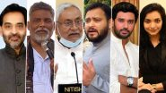 Bihar Assembly Election 2020: From Nitish Kumar, Tejashwi Yadav to Pushpam Priya Chaudhary; Here is the List of Probable Bihar CM Candidates