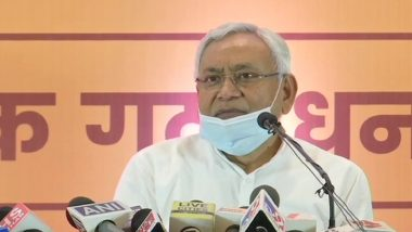 Bihar Assembly Elections 2020: JD(U) Allotted 122 Seats, BJP to Fight on 121, Says CM Nitish Kumar
