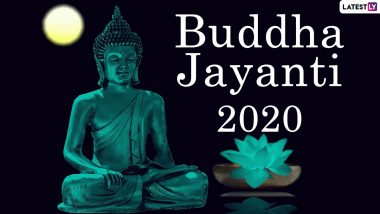 Buddha Jayanti 2020 Images And HD Wallpapers For Free Download Online: WhatsApp Stickers, Facebook Greetings, Lord Buddha GIFs And Messages to Send on the Occasion