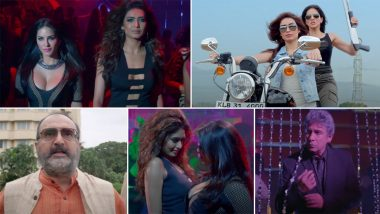 Bullets Trailer: Sunny Leone and Karishma Tanna Set Out on a Wild Mission to Expose Influential Politicians and Arms Dealers (Watch Video)