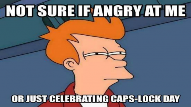 Caps Lock Day 2020 Funny Memes and Puns to Send Those Who Love Using The Capitalisation Key