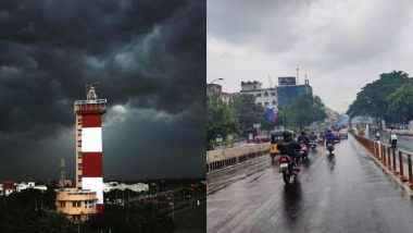 Chennai Receives Heavy Rainfall, Twitterati Cheer as #ChennaiRains Bring Respite to City's Heat (See Pictures And Videos)