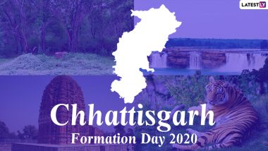 Chhattisgarh Formation Day 2020: Know Date, Significance and History of the Formation of the 26th State of India