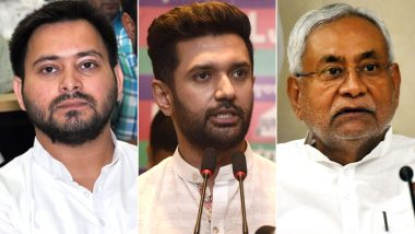 Bihar Assembly Election 2020: Tejashwi Yadav Says Nitish Kumar did Injustice to Chirag Paswan