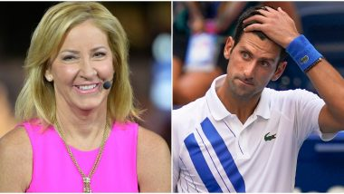 Chris Evert Calls Out Novak Djokovic for 'Rivalry With Rafael Nadal Biggest in Sport' Comment, Reminds Her Record 80-Match Duel With Martina Navratilova