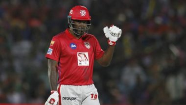 Chris Gayle Is Back! Fans Go Berserk as Universe Boss Finally Plays His First Dream11 IPL 2020 Match, Gets Selected for RCB vs KXIP Clash