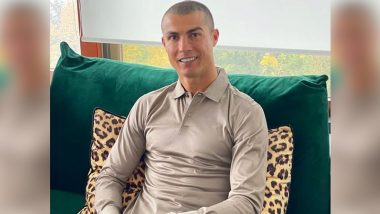 Cristiano Ronaldo Health Update: Juventus Star Shares Picture From Quarantine After Being Ruled Out of Juventus vs Barcelona UCL 2020–21 Match Due to COVID-19 Positive Result