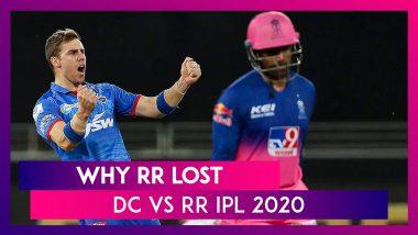 Delhi vs Rajasthan IPL 2020: 3 Reasons Why Rajasthan Lost To Delhi