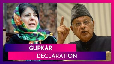 Gupkar Declaration: Farooq Abdullah, Mehbooba Mufti & Others Form 'People's Alliance' To Restore Article 370 In Jammu & Kashmir