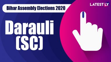 Darauli (SC) Vidhan Sabha Seat in Bihar Assembly Elections 2020: Candidates, MLA, Schedule And Result Date