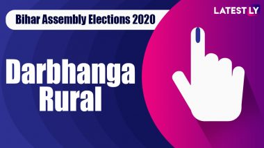 Darbhanga Rural Vidhan Sabha Seat in Bihar Assembly Elections 2020: Candidates, MLA, Schedule And Result Date