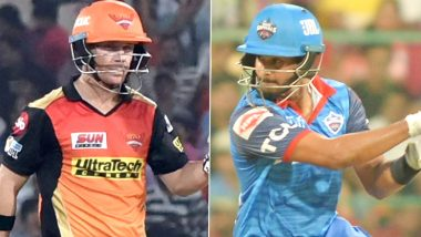 How to Watch DC vs SRH IPL 2020 Qualifier 2 Live Streaming Online in India? Get Free Live Telecast Delhi Capitals vs Sunrisers Hyderabad Dream11 Indian Premier League 13 Cricket Match Score Updates on TV