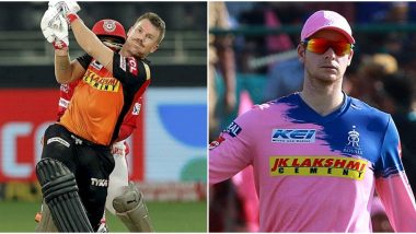 Sunrisers Hyderabad vs Rajasthan Royals, IPL 2020 Toss Report and Playing XI Update: Ben Stokes Makes First Appearance As David Warner Opts to Bat First