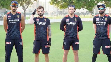 Virat Kohli Recalls School Days While Sharing Picture With AB de Villiers, Mohammed Siraj and Devdutt Padikkal, RCB Skipper's Caption Will Make You Nostalgic!