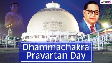 Dhammachakra Pravartan Day 2020 Wishes and Messages Trend on Twitter: People Remember Dr BR Ambedkar As They Share His Powerful Quotes to Mark Dhamma Chakra Pravartan Din