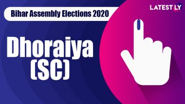 Dhoraiya Vidhan Sabha Seat Result in Bihar Assembly Elections 2020: RJD's Bhudeo Choudhary Wins Close Contest Against JD(U)'s Manish Kumar