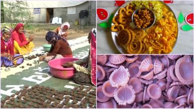 This Diwali 2020, Go Vocal For Local: From Eco-friendly Diyas, Homemade Faral Snacks to Handloom Clothes, Here's How to Embrace Local Produce For This Festive Season